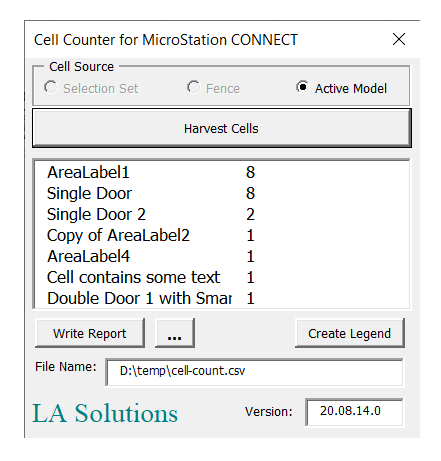 VBA Cell Counter