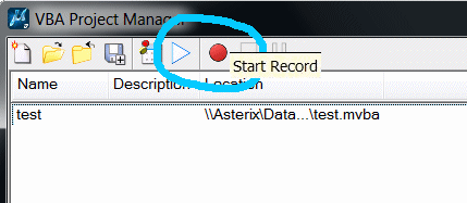VBA Macro Recorder