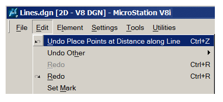 MicroStation VBA: Place Points along Line