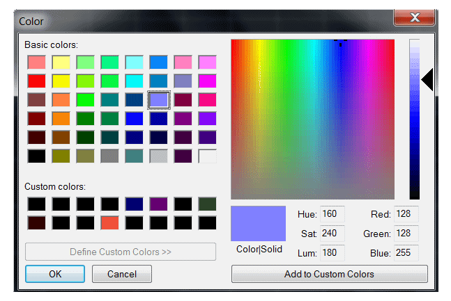 Windows Dialogs using MicroStation VBA